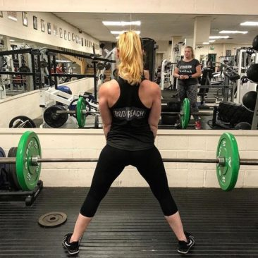 Alice on the Deadlifts