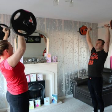 Personal training together
