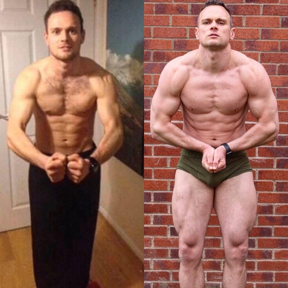 My 5 year transformation