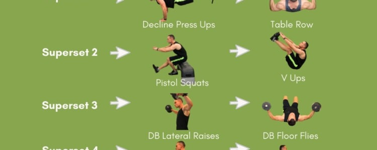 Workouts to Build Muscle at Home
