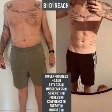 Liam's Body Transformation