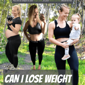 lose weight whilst walking